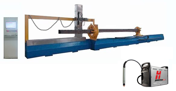 Plasma square tube cutting machine